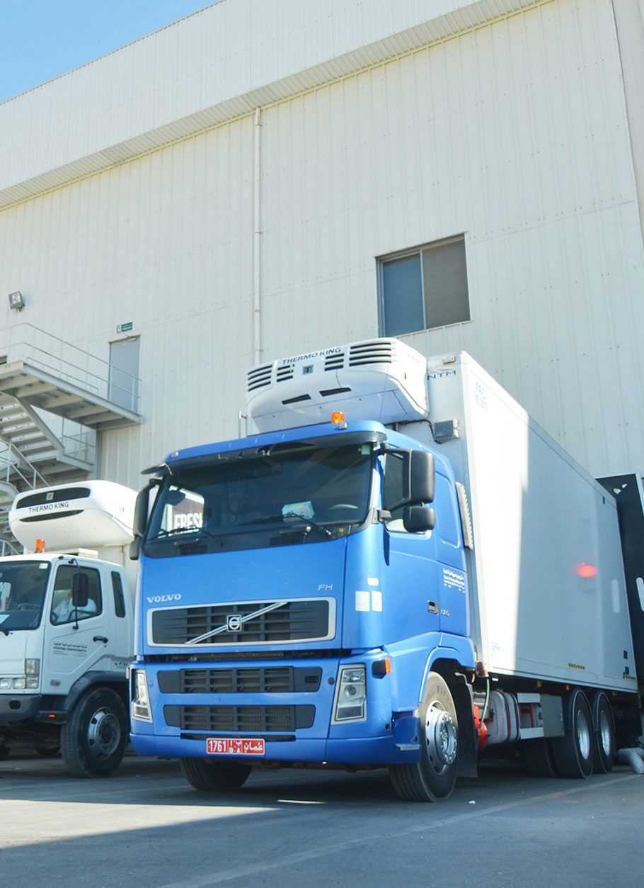 Omani Integrated logistic Services | Land Freight